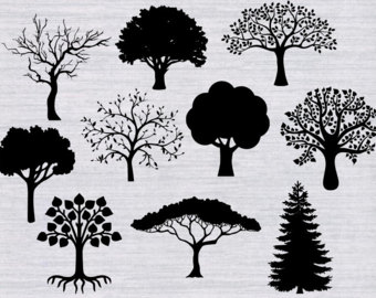 Tree-lined svg #16, Download drawings