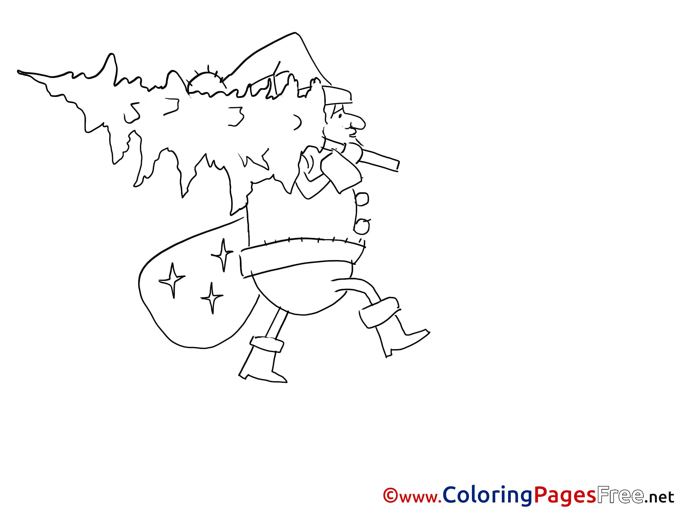 Treeman coloring #3, Download drawings