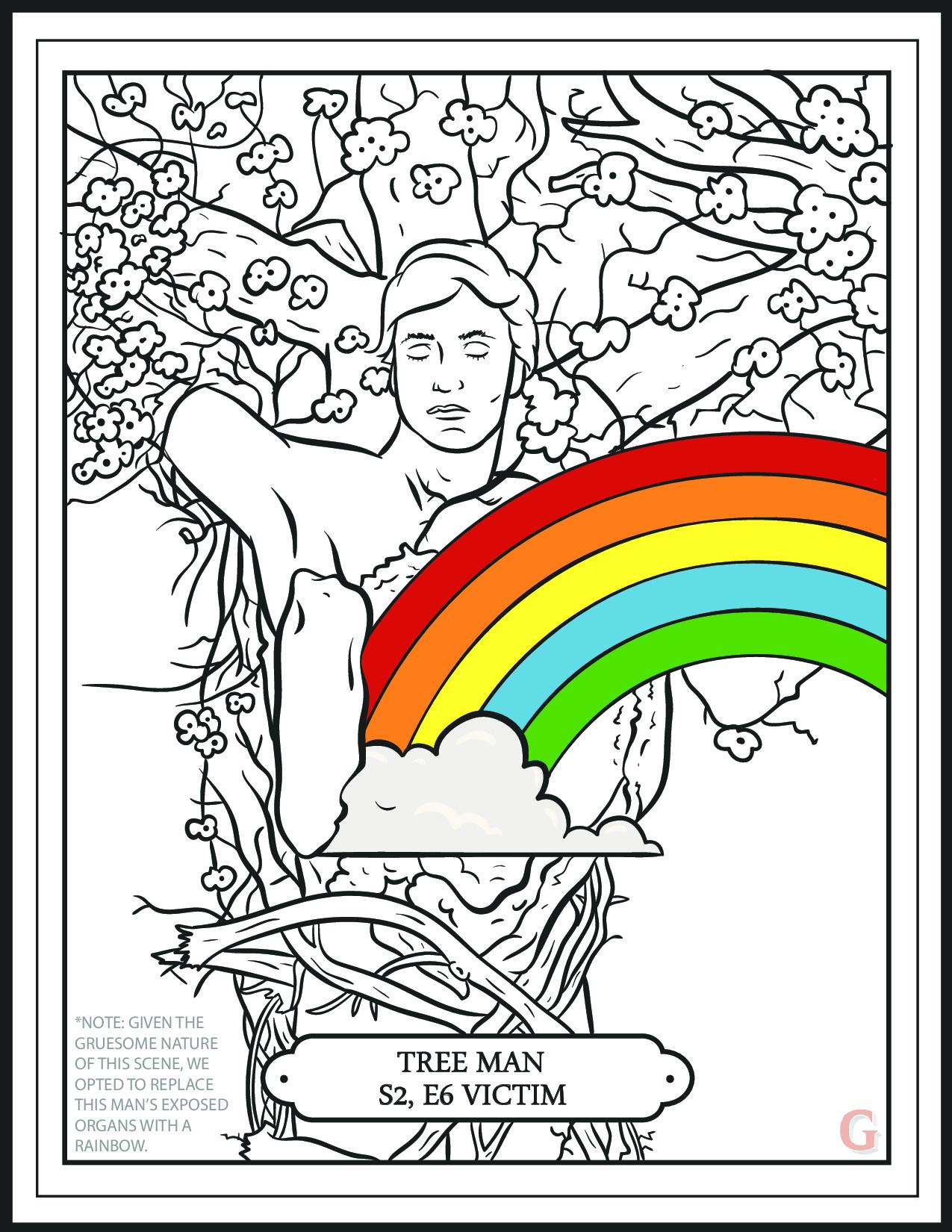Treeman coloring #13, Download drawings