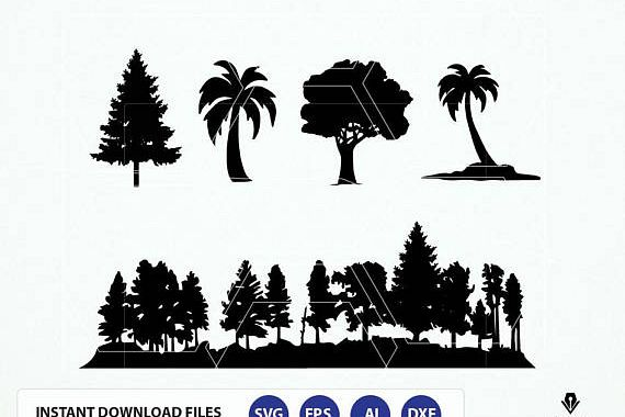 trees svg #905, Download drawings