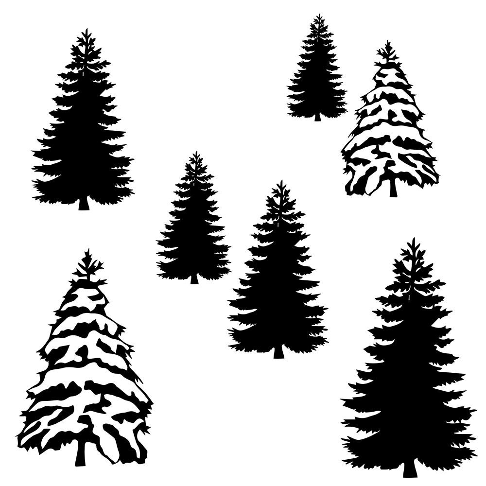trees svg #907, Download drawings