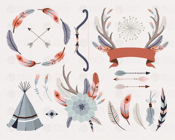 Tribal clipart #13, Download drawings
