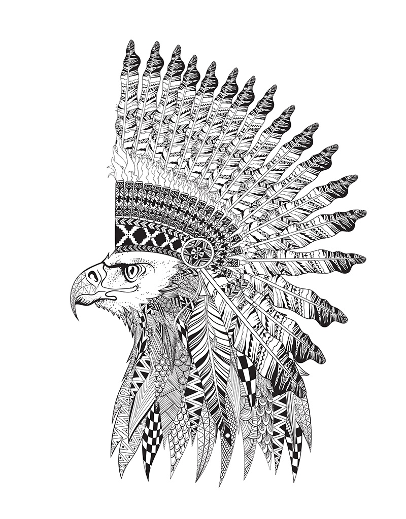 Tribal coloring download tribal coloring for Tribal pattern coloring pages