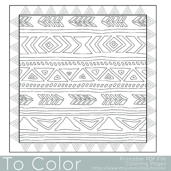 african design coloring pages - photo#26