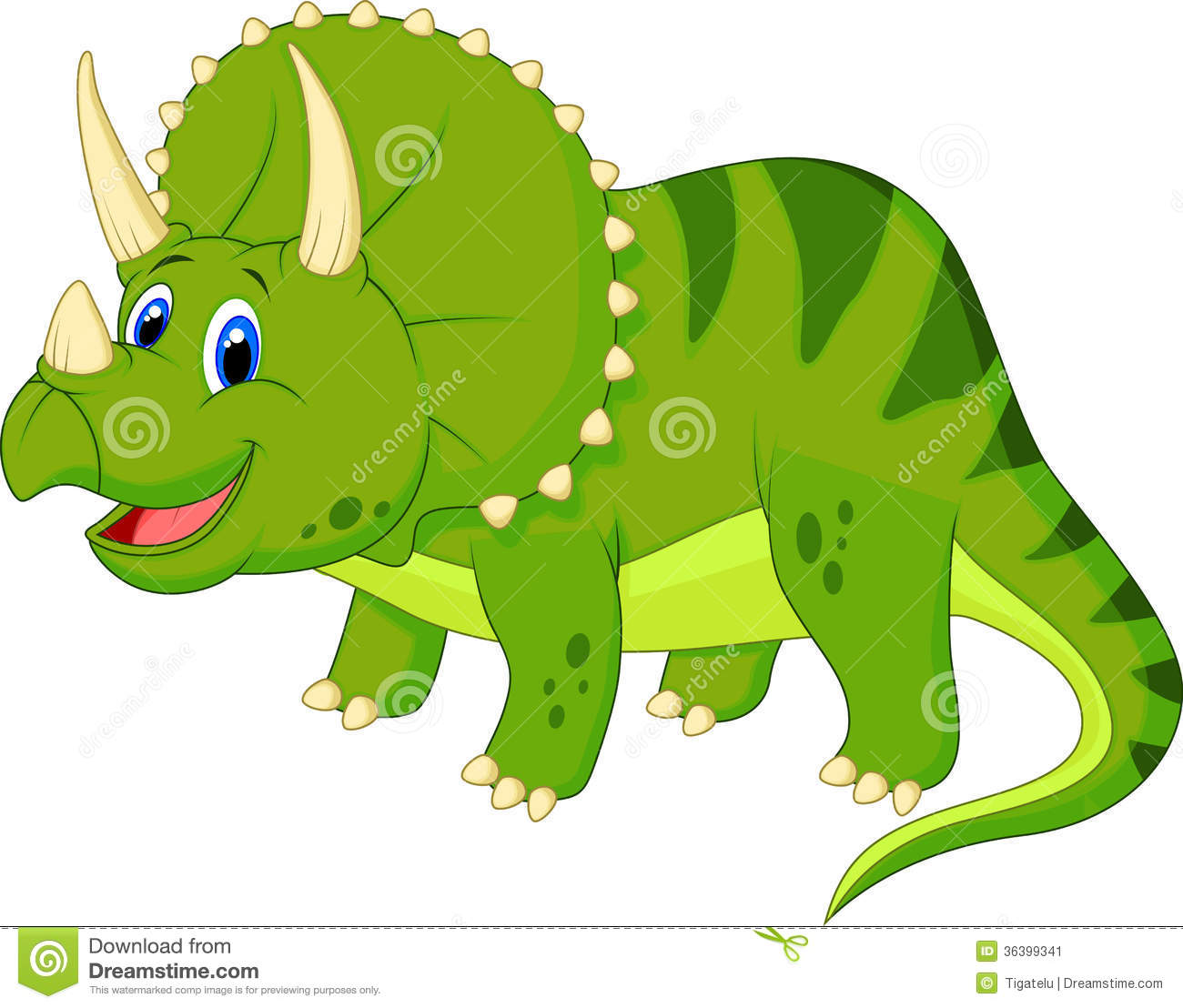 Triceratops clipart #10, Download drawings
