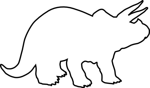 Triceratops svg #14, Download drawings