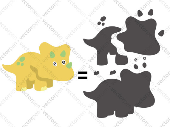 Triceratops svg #11, Download drawings