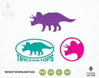 Triceratops svg #5, Download drawings