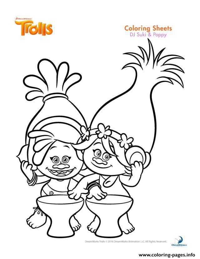 Troll coloring #3, Download drawings