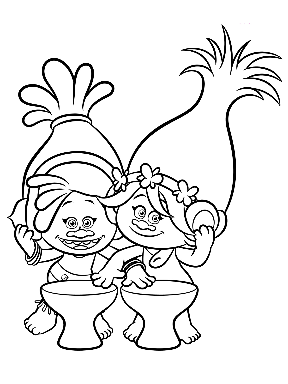 Troll coloring #8, Download drawings