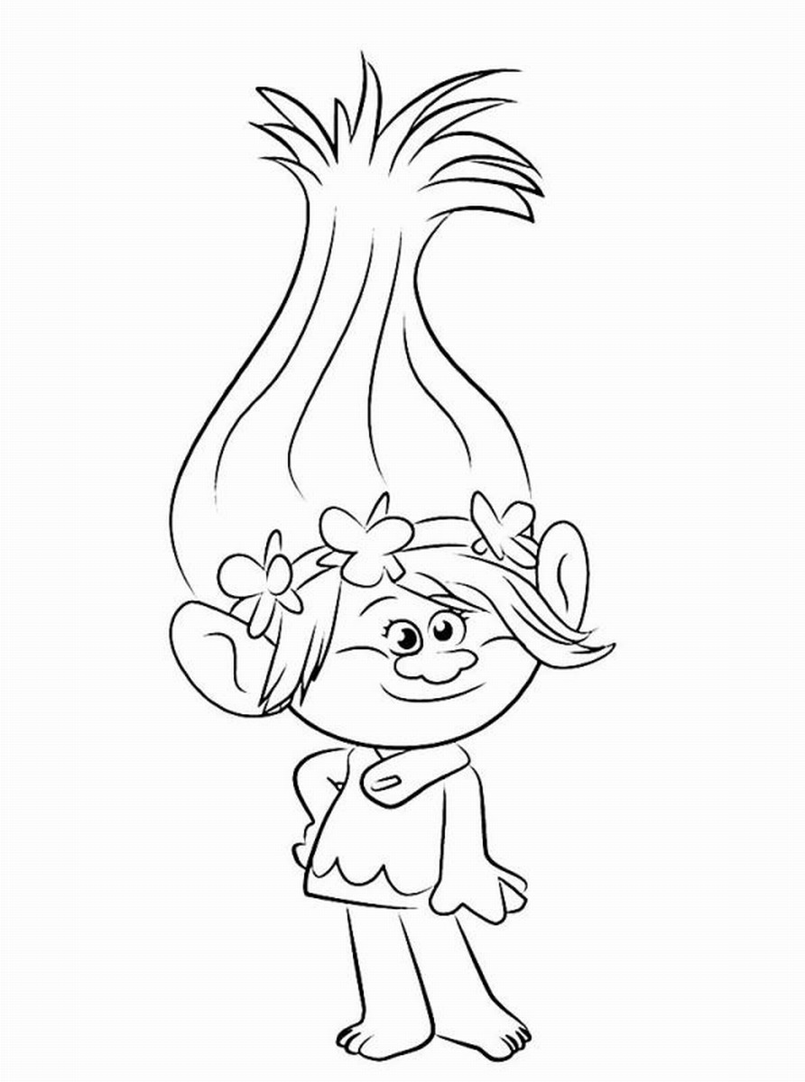 Troll coloring #11, Download drawings