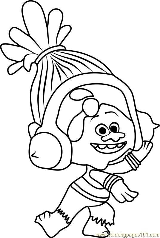 Troll coloring #5, Download drawings