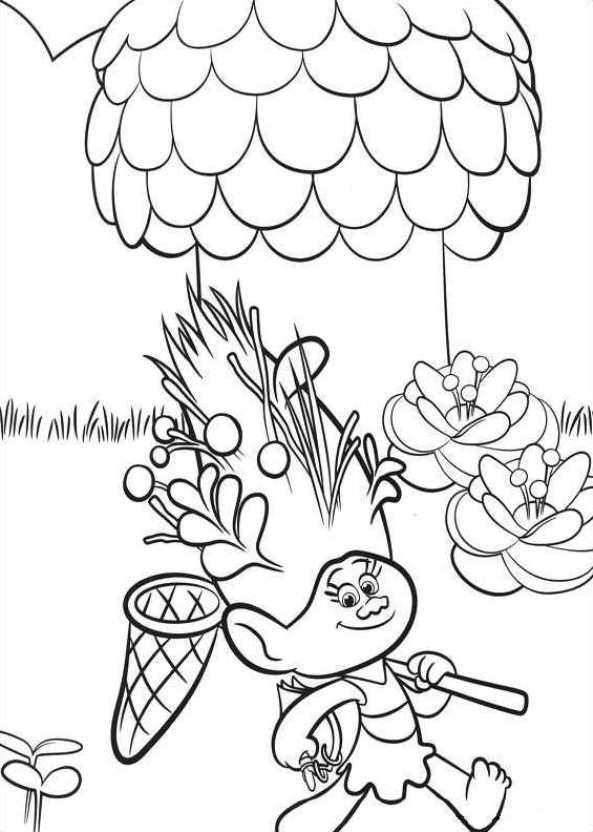 Troll coloring #2, Download drawings