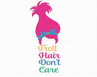 troll hair svg #50, Download drawings