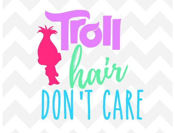 troll hair svg #46, Download drawings