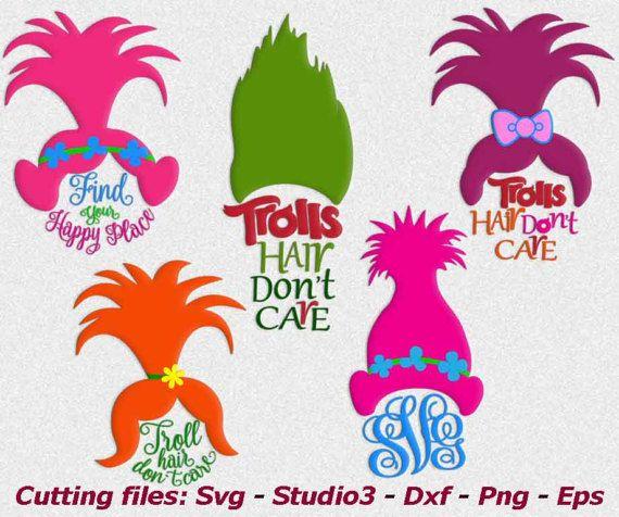 troll hair svg #45, Download drawings