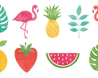 Tropical clipart #12, Download drawings