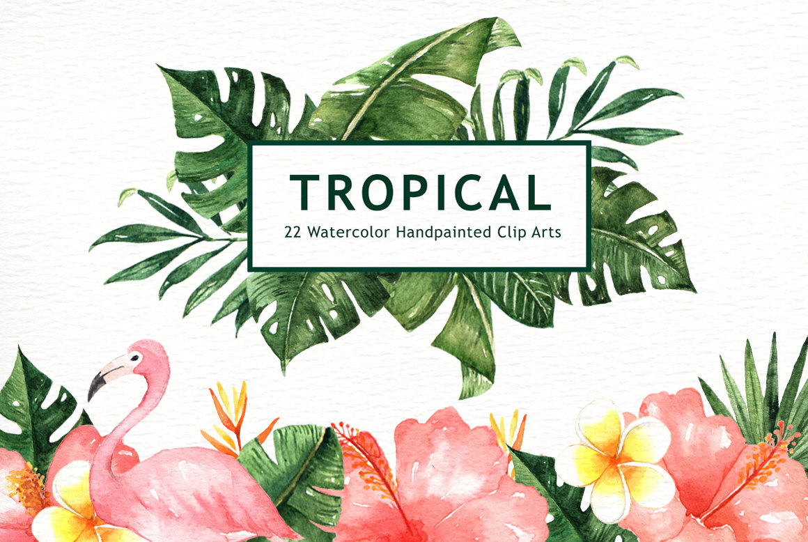 Tropical clipart #7, Download drawings
