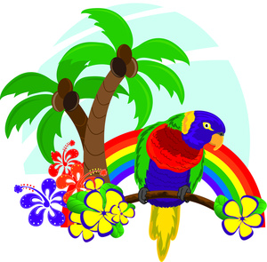 Tropical clipart #2, Download drawings