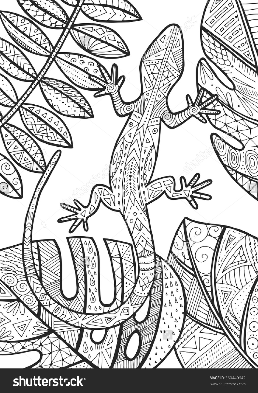free tropical coloring pages - photo#10