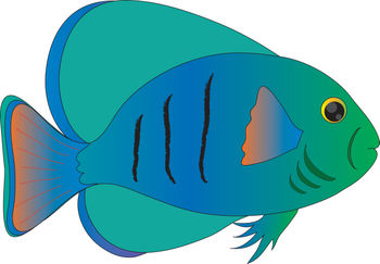 Tropical Fish clipart #4, Download drawings