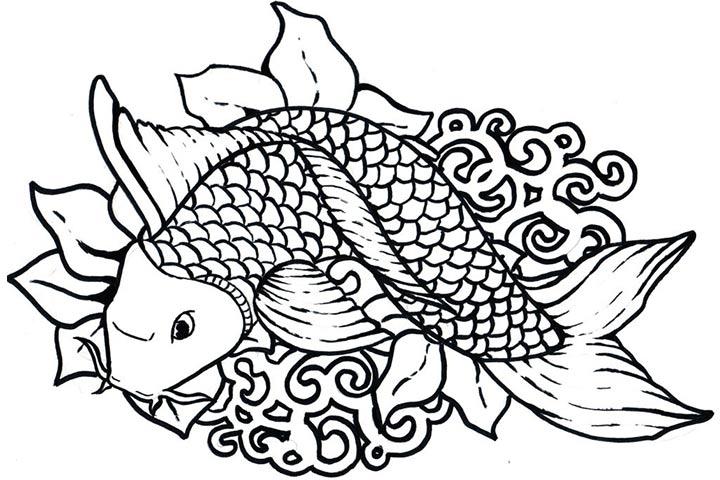Tropical Fish Coloring Download Tropical Fish Coloring