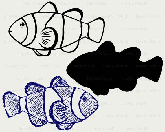 Tropical Fish svg #8, Download drawings