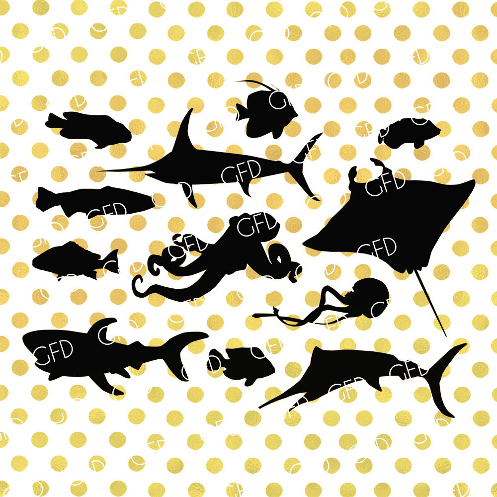 Tropical Fish svg #14, Download drawings