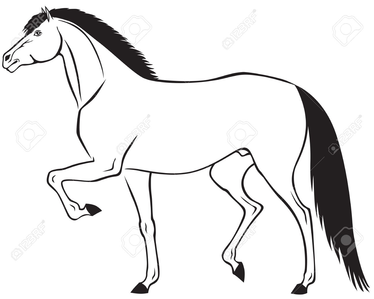 Trot clipart #16, Download drawings