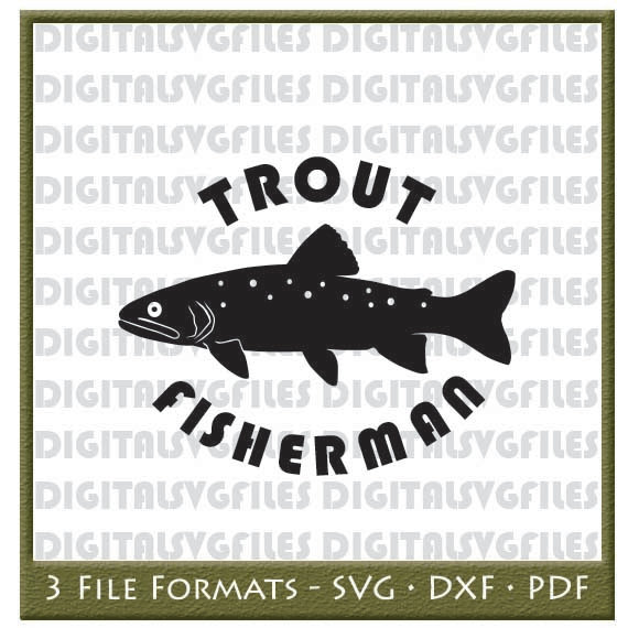 Trout svg #9, Download drawings