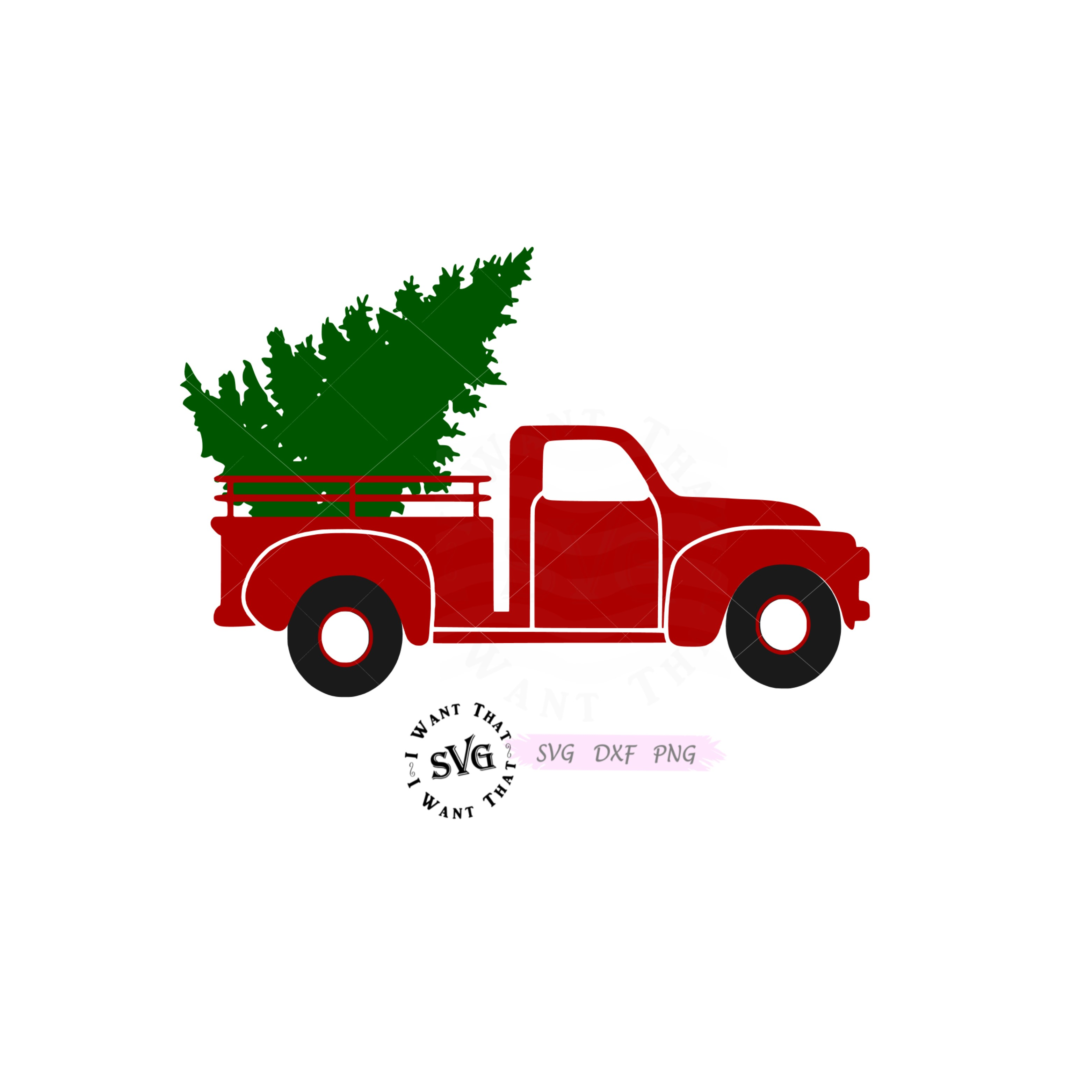 truck with christmas tree svg #1128, Download drawings