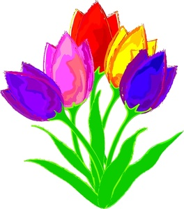 Tulip clipart #14, Download drawings