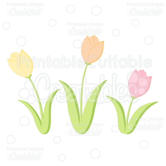 Tulip svg #5, Download drawings