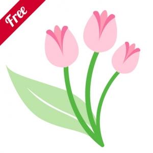 Tulip svg #8, Download drawings