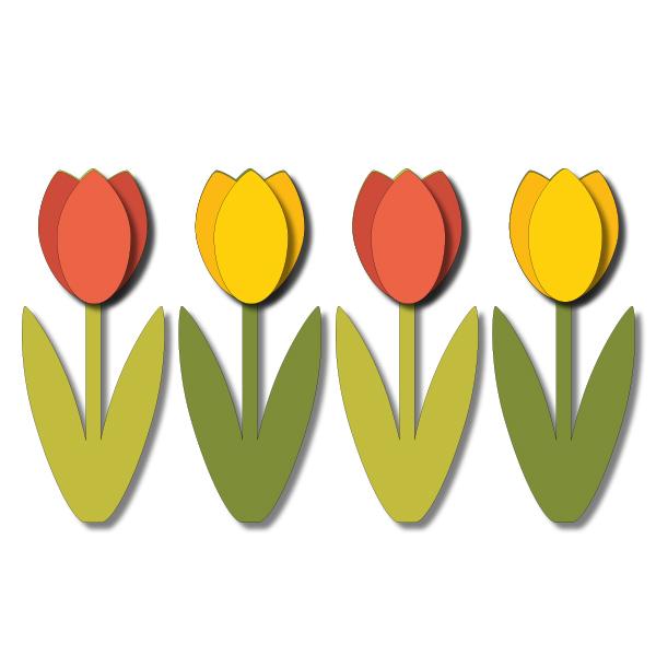 Tulip svg #16, Download drawings