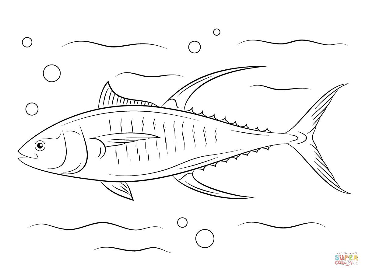 tuna fish coloring page tuna coloring download tuna coloring