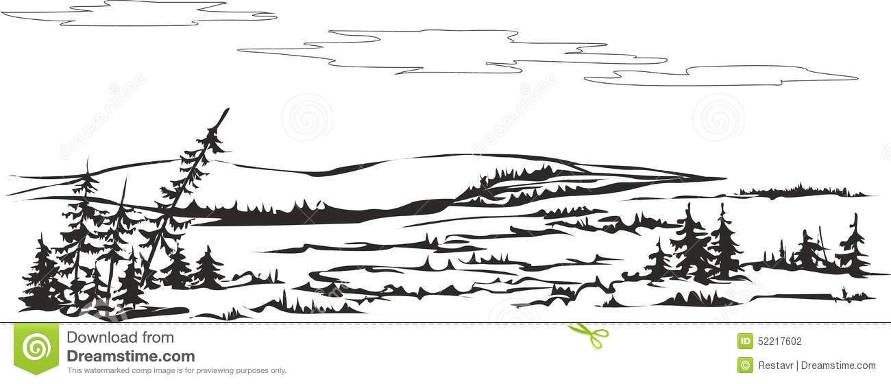 Tundra clipart #5, Download drawings