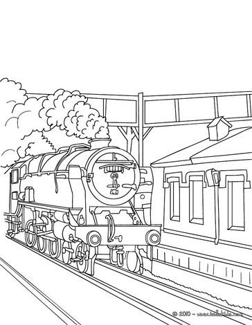 Departure coloring #11, Download drawings