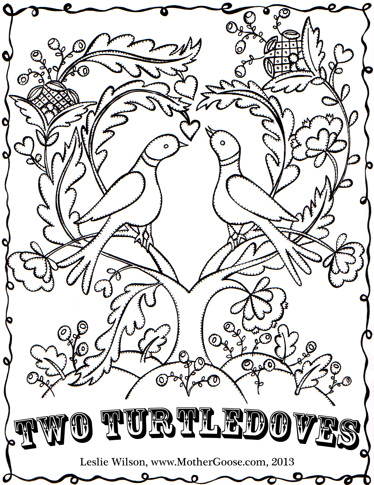 Turtle Dove coloring #19, Download drawings