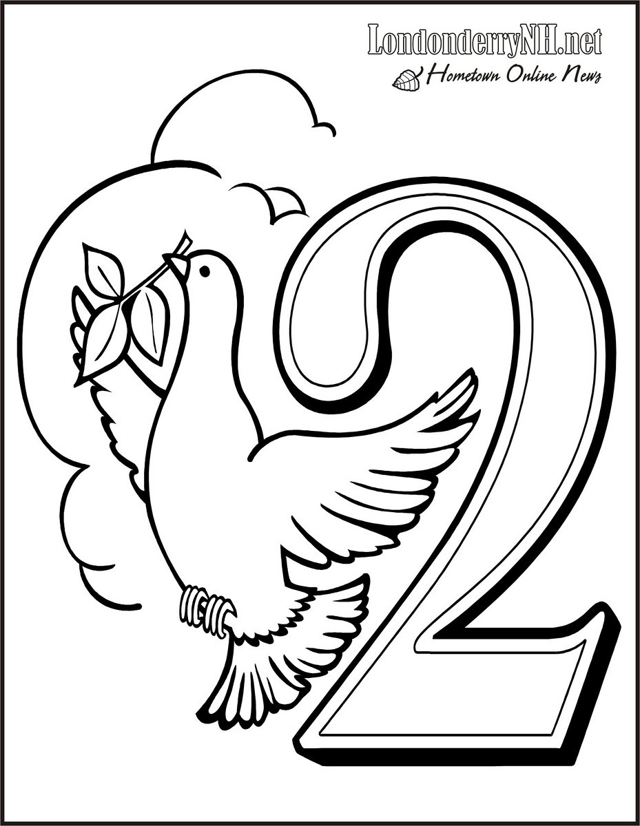 Turtle Dove coloring #17, Download drawings