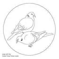 Turtle Dove coloring #8, Download drawings