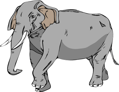 Tusk clipart #4, Download drawings