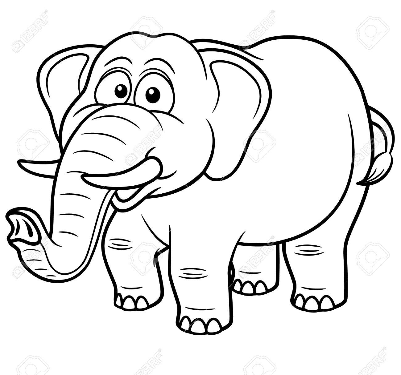 Tusk coloring #5, Download drawings