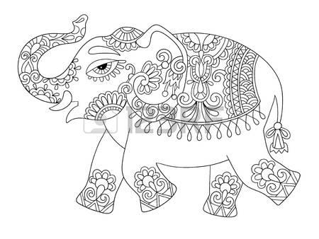Tusk coloring #1, Download drawings