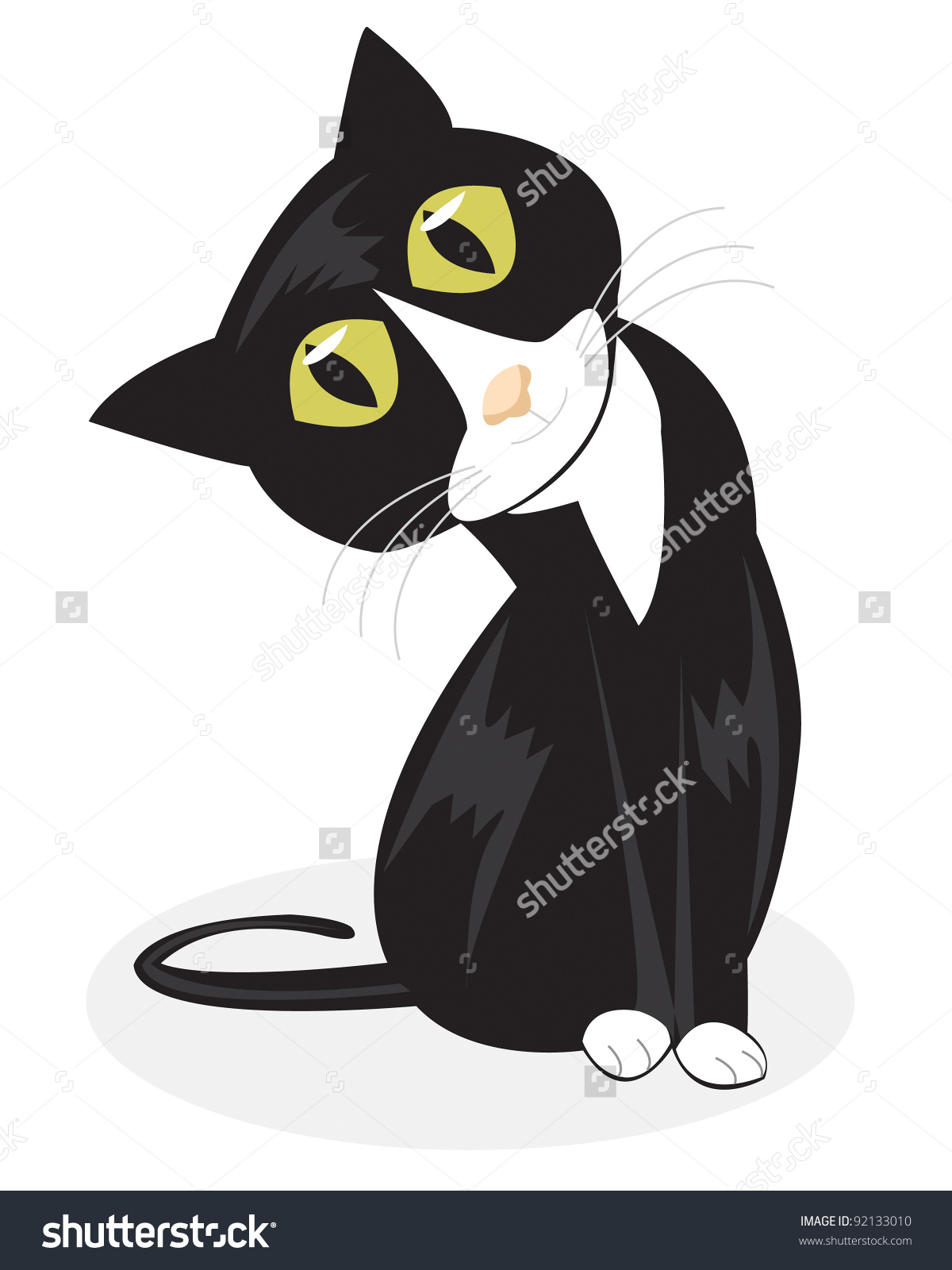 Tuxedo Cat clipart #10, Download drawings