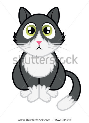 Tuxedo Cat clipart #14, Download drawings