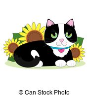 Tuxedo Cat clipart #15, Download drawings