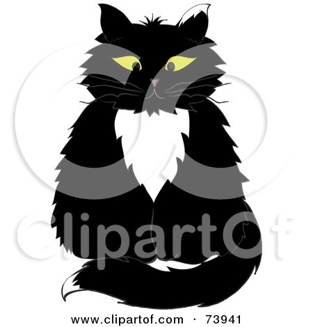 Tuxedo Cat clipart #7, Download drawings