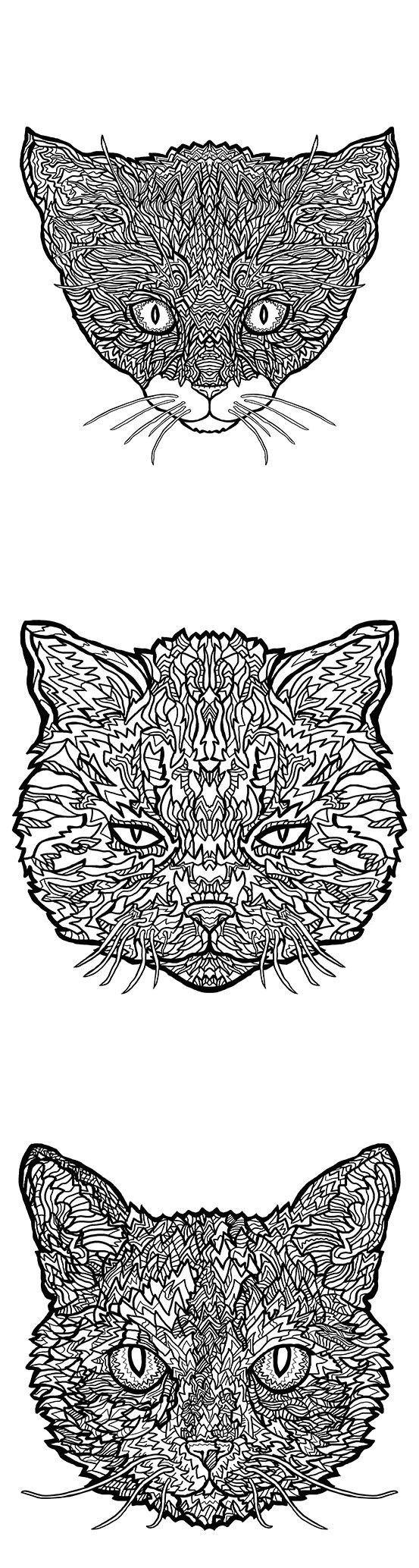 Tuxedo Cat coloring #20, Download drawings