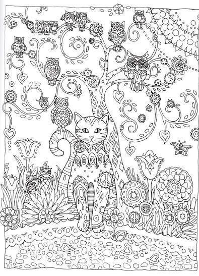 Tuxedo Cat coloring #19, Download drawings